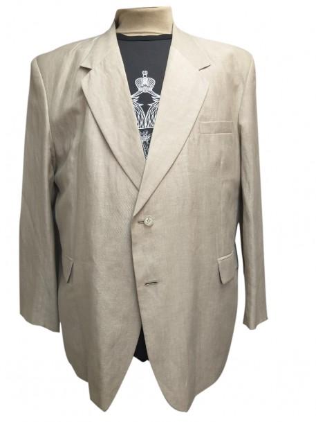 Купить Льняной пиджак большого размера за 3500 руб. в интернет-магазине Мой-размер - Магазин Мой-Размер
