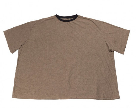 a31733e53a462 Футболка большого размера бежевого цвета. Купить футболка для полных  бежевого цвета бежевого цвета в интернет-магазине Мой- ...
