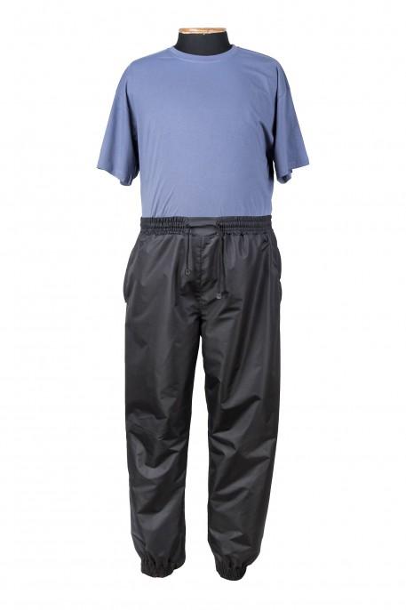 Купить Брюки большого размера из плащевки c манжетом утепленные флисом с карманами на молнии за 2900 руб. в интернет-магазине Мой-размер - Магазин Мой-Размер